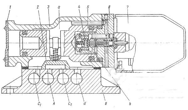 Конструкция и принцип работы пневмораспределителей В64