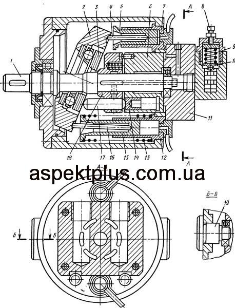 Конструкция насоса 2Г15-14
