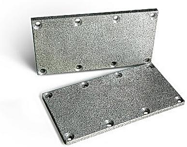 Пластина-глушитель У71 из алюминия для У71-22А, У71-24А, У71-22, У71-24