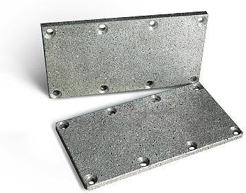 Пластина - глушитель У71 (алюминий)