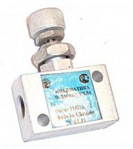 Пневмодроссели с обратным клапаном П-ДК 06-2, П-ДК 10-2, П-ДК 16-2, П-ДК 20-2, П-ДК 25-2