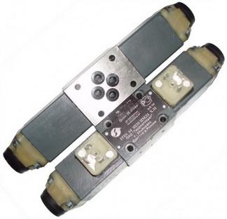 Гидрораспределители ВЕ6 24, ВЕ6 34, ВЕ6 44, ВЕ6 14 с двухсторонним электромагнитным управлением