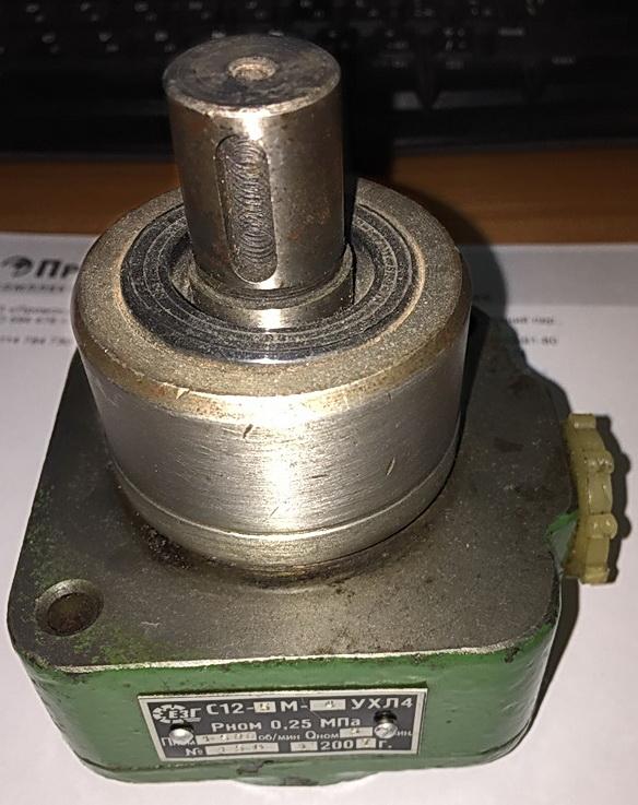 Насос пластинчатый С12-4М-10