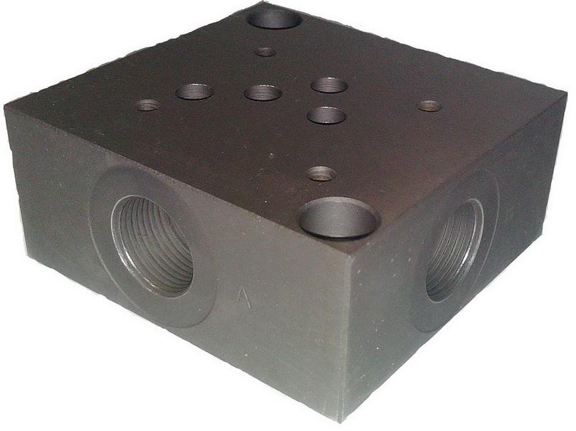 Плита монтажная (присоединительная) гидрораспределителя ВЕ10