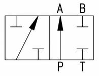 Гидросхема 573Е