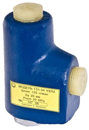 Клапан обратный Г51-24 (Г51-34)