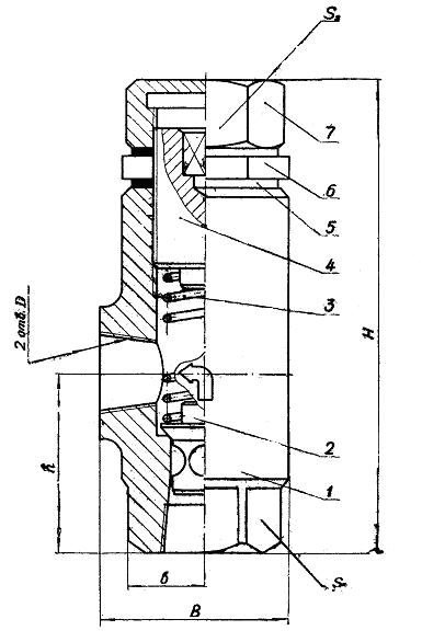 Конструкция, принцип действия и габаритные размеры гидроклапанов КПШ