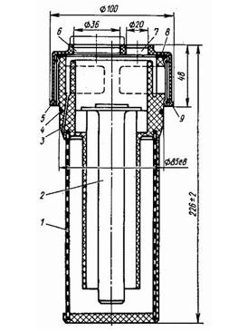 Принцип работы, основные параметры и условное обозначение фильтра заливного Г42-12Ф